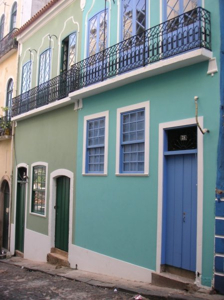 Townhouse in the historical center of Salvador with 1500 m² constructed area and colonial front, 40301-408 Salvador, Brasil