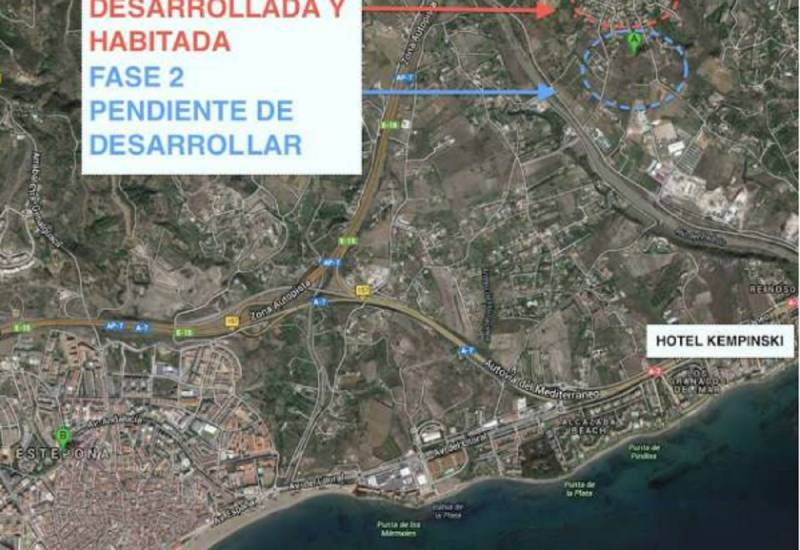 Land / Lots for sale Estepona/Málaga,  Estepona, İspanya
