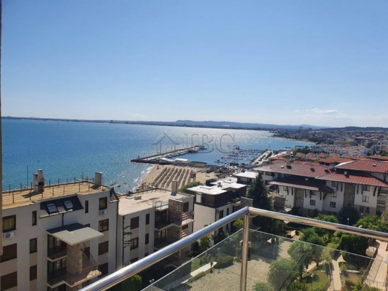 Frontal Sea VIew 1 bedroom apartment In Dolce VIta,  SvetI Vlas, Bulgaria