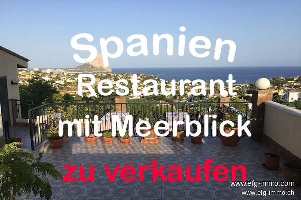 Calpe Restaurant mit Meerblick Appartements | EfG 12211-S, 03710 Calpe, Spain